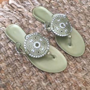 Jack Rogers Jellies, Size 7